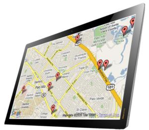 Pest Control Asset Tracking Software on tablet